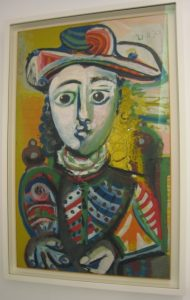 Jeune fille assise - Picasso