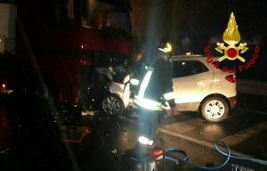 manocalzati, incidente